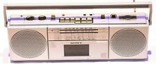 SONY CFS-2000L Vintage Portable Stereo Radio Cassette Tape Player Recorder