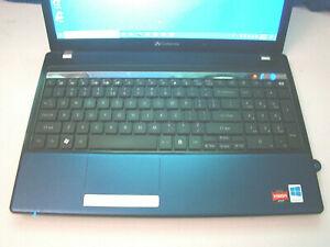 Gateway NV53A52U/Amd TurionII P540 2.40ghz/4gb/160gb/Windows 10 Pro/Webcam/BT/15