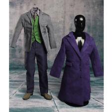 Heath Ledger Costume Set 1/6 Joker Batman de 2.0 DX01 DX11 Traje Para Hot Toys Cuerpo