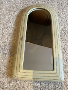 Contemporary Arched Wall Mirror Wood