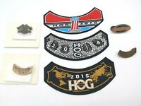 HOG Harley Davidson Owners Group Lot Of 3 Patches And 4 Pins