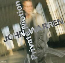 John Warren Private Motion Japan CD 9 Tracks 1989 Soft Pop / AOR No Obi