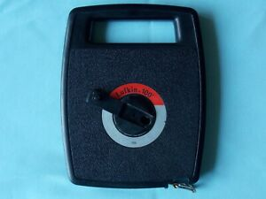Lufkin 706 Linear Tape Measure, 1/2in x 100ft, black Case contractor tool