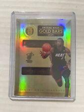 2010-11 Gold Standard Gold Bars Dwyane Wade #4 Ser #110/299