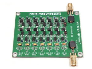 *NEW* Multi Band Pass Filter HF+6m Upgraded version RTL SDR HAM  Transceiver