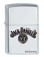 Zippo Jack Daniels Chrom poliert 2001957 aus 2011 Sammler Rar