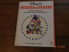 Disney'S America On Parade Paperback Book, Harry N. Abrams, Inc., Publishers N.Y