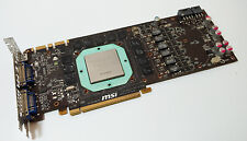 MSI Nvidia GeForce GTX 580 Graphics Card - Circuit Board PCB ONLY - Faulty