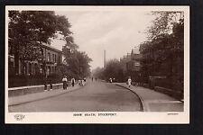 Stockport - Shaw Heath - real photographic postcard