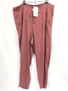 Fabletics Womens 4X Pants Maj Tricot Relaxed Fit Lounge Jogger Pockets NWT