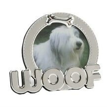 WOOF Dog  Photo Picture Frame 3x3 NEW 13121