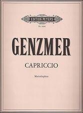 Harald Genzmer - Capriccio für Marimbaphon solo