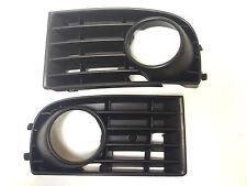 Vw Golf 5 Mk5 V 2003-2008 Parachoques Delantero Rejilla Inferior Con Luces De Niebla agujero lh+rh