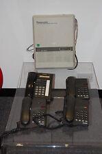Panasonic Kx-ta624 sistema telefónico + 1 Panasonic Kx-t7730 + 3 Avaya teléfonos