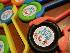 12 DR. SEUSS Disk SHooters~ birthday party favor treat, award, CAT IN THE HAT