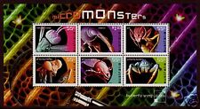 AUSTRALIA 2009 MICROMONSTERS MINIATURE SHEET UNMOUNTED MINT, MNH