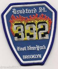 "New York City - Engine-332  ""Bradford Street""  (3.5"" x 4"" size) fire patch"