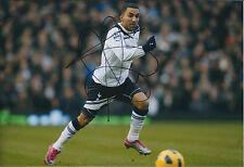 Aaron LENNON SIGNED Autograph 12x8 Photo AFTAL COA Premier League New Shirt