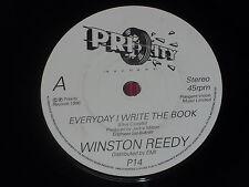 "Winston Reedy:  Everyday I write the book   7""  NEW Ex shop stock"