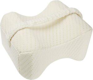 Ergonomisches Knie-Kissen für Seitenschläfer, Beinkissen zum Schlafen mit Bezug