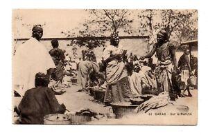 DAKAR, SENEGAL, AFRICA ~ NATIVE MARKET, BUYERS & SELLERS ~ 1907-20