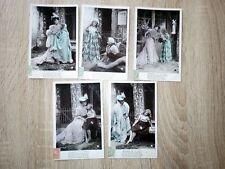 5x CPA CARTES POSTALES POSTCARDS 1906 LA REVANCHE DE LA CIGALE Stebbing