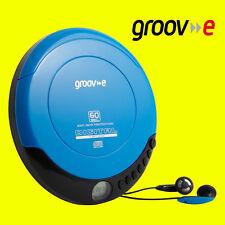 Groov-e GVPS110 BLUE  Digital Retro Series Portable Personal CD Player Walkman