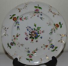 Assiette en porcelaine de Paris à décor de fleurs . XIXe s (2)