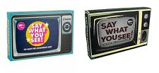 New Say What You See Game- 2 Different Design- Quick-Fire Catchphrase Card Game
