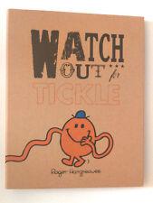 A4 Ring Binder Mr Men Watch out for Tickle Dossier Dossier Kraft Marron Orange Cadeau