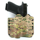 OWB Kydex Holster for Hanguns with Crimson Trace CMR 208 - MULTICAM