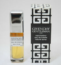 GIVENCHY GENTLEMAN EAU DE TOILETTE 30 ML SPRAY CASSIC FORMULA BLACK LABEL IN BOX