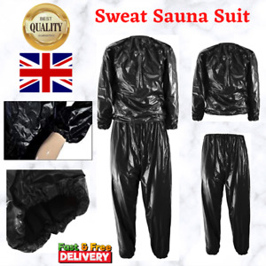 Gym Sweat Sauna Suit Running Warm Clothes Heavy Duty Exercise Fitness Yoga Sport