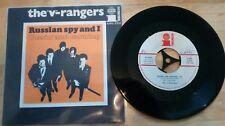 "SINGLE 7"" --- THE ""V"" RANGERS**russian spy and i**austrian beat**NM**rare"