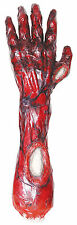 "15"" Gory Bloody Burnt Arm Hand Cut Off Body Part Halloween Prop Decor Decoration"