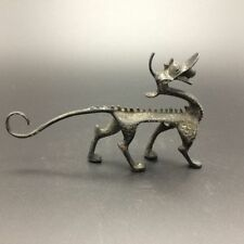 Chinese antique copper handmade carving dragon Statues  a02
