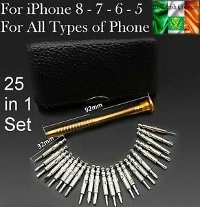 For iPhone 8 7 6 Repair Precision Screwdriver Torx Tool Kit Set iPhone iPad