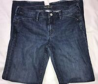 OLD NAVY THE FLIRT STRETCH MID RISE BOOT CUT WOMEN'S JEANS SIZE 8 INSEAM 31""