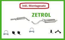 VW Golf 4 1.6 /1.9 Seat Leon 1.6 Auspuffanlage Auspuff ab Kat +Montagesatz