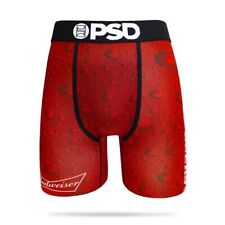 PSD Budweiser King of Beers Red Mens Athletic Boxer Briefs Underwear E11911003
