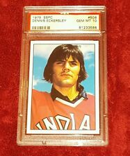 DENNIS ECKERSLEY ROOKIE RC 1975 SSPC #506 ROOKIE RC HALL OF FAMER  PSA 10 ☆ NICE