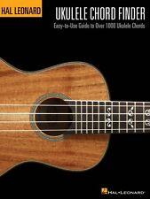 Hal Leonard Ukulele Chord Finder Easy Guide to Over 1000 Chords 000695803