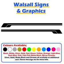 (stripe4) SIDE STRIPES Car Stripes Decals/Stickers SUITABLE FOR ALL CARS!