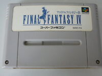 Nintendo Super Famicom Final Fantasy IV FF 4 Japan SFC SNES