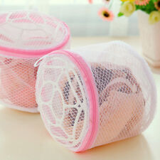 Zipped Wash Bag Washing Laundry Net Lingerie Mesh Underwear Bra Clothes Organize