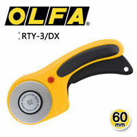 OLFA RTY-3/DX 60mm Rotary Cutter Knife Multipurpose Utility MADE IN JAPAN_AR