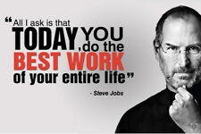 """032 Steve Jobs - RIP Think Different Great Inventor 21""""x14"""" Poster"""