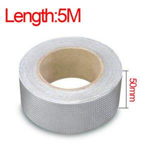 100mm/50mm Super Strong Waterproof Tape Butyl Seal Rubber Aluminum Foil Tape NEW