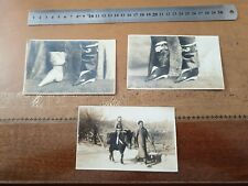 China 1910 Wei Hai Wei bound feet before and after real photo postcards RARE