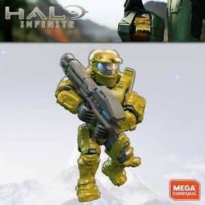 Halo Infinite Mega Construx Spartan Mk IV green 2018 Banished Banshee Brawl